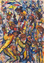 François Krige; Cape Town Minstrel Carnival