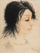 Pieter van der Westhuizen; Portrait of a Woman