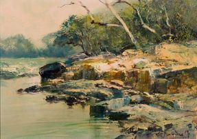 Christopher Tugwell; River Bank