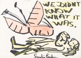 Sinclair Beiles; We Didn't Know What It Was, recto; Sunrise, verso