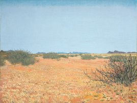 Adolph Jentsch; Landscape, Seeis, Namibia