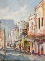 Christiaan Nice; Cape Town Street Scene