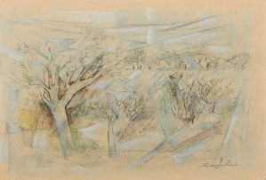 Gordon Vorster; Landscape with Kudu