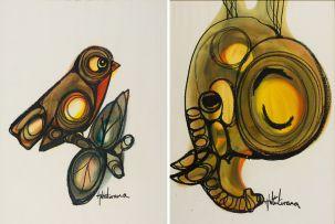 Hargreaves Ntukwana; Bird; Elephant, two