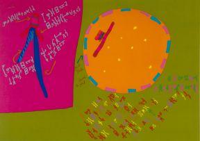 Walter Battiss; Magic Sticks