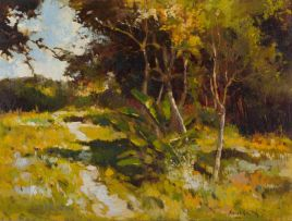 Errol Boyley; Landscape with Trees