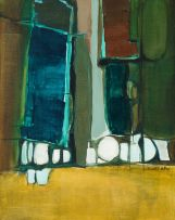 Joan Cundall-Allen; Abstract Composition