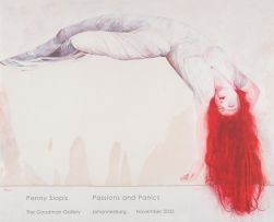 Penny Siopis; Passions and Panics, exhibition poster