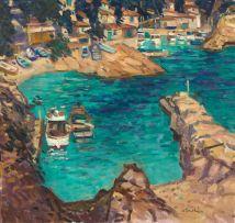 George Devlin; Inlet, Cote d'Azur