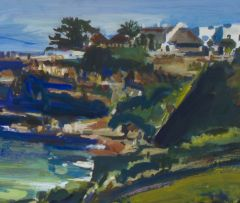 Gerhard Batha; Old Harbour, Hermanus