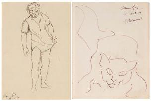 Johannes Meintjes; Boy; Cat, two