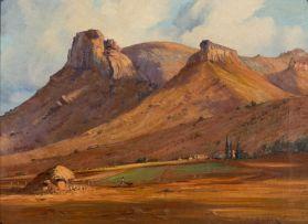 Willem Hermanus Coetzer; Free State near Golden Gate