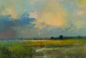 Errol Boyley; Wetland at Dusk