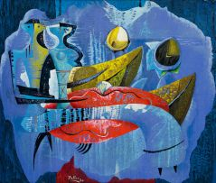 Alexis Preller; Contrapuntal Figures II
