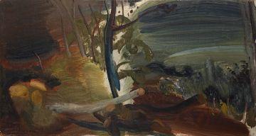 Ivon Hitchens; Felled Trees