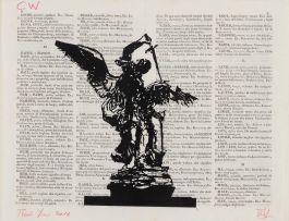 William Kentridge; St George and the Dragon