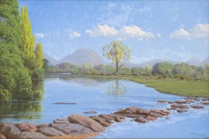 Jan Ernst Abraham Volschenk; Below the Drift: The Morass River, Oudtshoorn