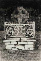 Susan Helm Davies; Cemetery Fence, PMB