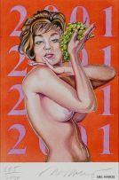 Mel Ramos; Grape Queen 2001