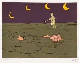 Valerio Adami; Petit Clair de Lune