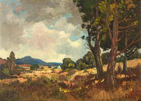 Piet van Heerden; Farm Scene