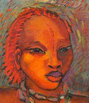Alexis Preller; Portrait of a Young Woman