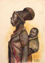 Simoni Mnguni; Mother and Child
