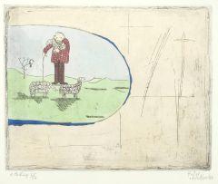 Pieter van der Westhuizen; Shepherd and Sheep