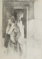 Armando Baldinelli; Two Ballet Dancers