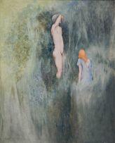 Montserrat Gudiol Corominas; Dues (Two) Figures
