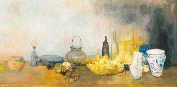 Jean Jansem; Nature Morte (Still Life)