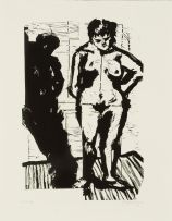 William Kentridge; Nude