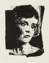 William Kentridge; Portrait of a Woman
