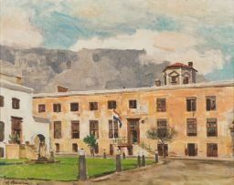 Robert Broadley; In the Courtyard of the Castle, Cape Town