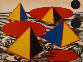 Alexander Calder; Pyramids and Fish