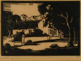 Jacob Hendrik Pierneef; Bolandse Plaas, Krommerivier (Nilant 16)
