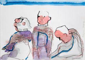 Robert Hodgins; Three Figures