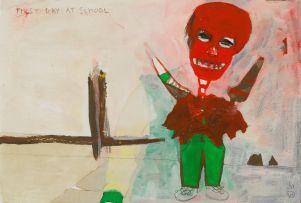 Willie Saayman; First Day at School