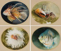 Leigh Voigt; Ocean Creatures, four