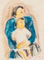 Irma Stern; Mother and Child
