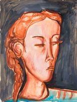 Irma Stern; Portrait