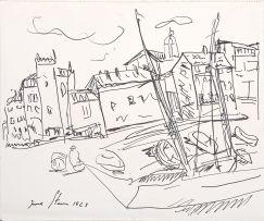 Irma Stern; Harbour