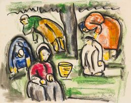 Irma Stern; Five Harvesters