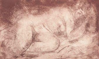 Irma Stern; Reclining Nude