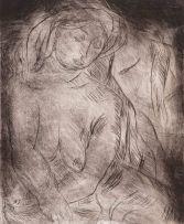 Irma Stern; Seated Nude