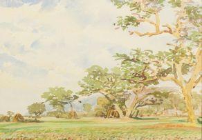 Adolph Jentsch; Landscape