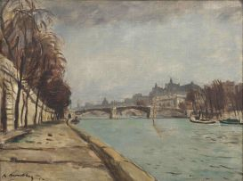 Robert Broadley; The Seine, Paris