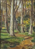 Robert Broadley; Trees
