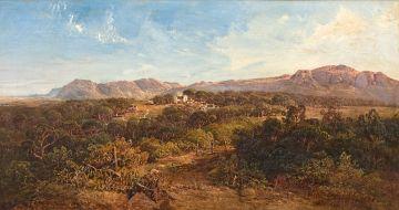 Charles Rolando; A View of Wynberg Hill