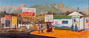 Philip Erskine; Township Scene (Kayamandi)